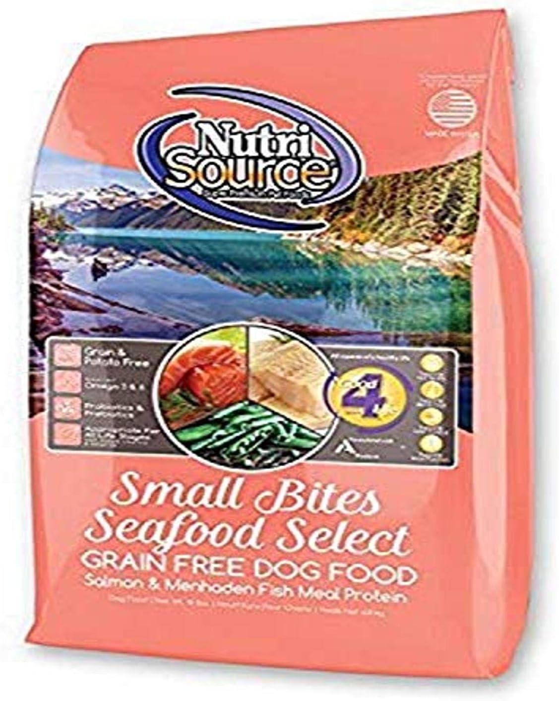 Nutri Source Small Breed Seafood Select Gf Dog Food 15 Lb