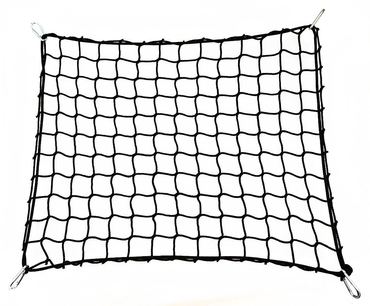 Universale Rete per Bagagliaio Bagagli Nero auto 120 x 80 cm [058] Ferocity
