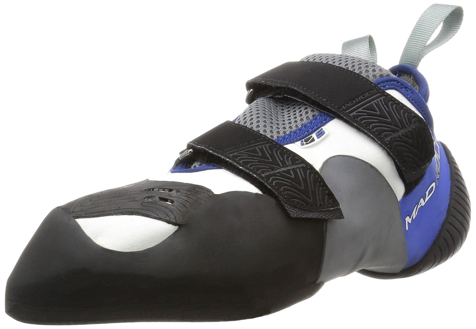 Mad Rock M5 Climbing Shoe Blue/White/Black/Grey, 7.5 by Mad Rock