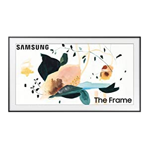 SAMSUNG 75-inch Class FRAME QLED LS03 Series - 4K UHD Dual LED Quantum HDR Smart TV with Alexa Built-in (QN75LS03TAFXZA, 2020 Model)