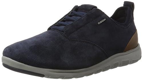 GeoxU Xunday 2fit a - Zapatillas hombre , color azul, talla 46 EU