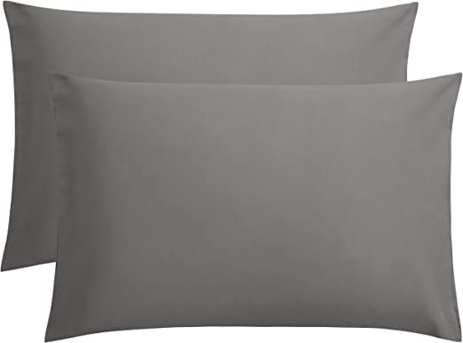 Brushed Microfiber Pillow cases Queen White 120 Pillow cases Utopia Bedding