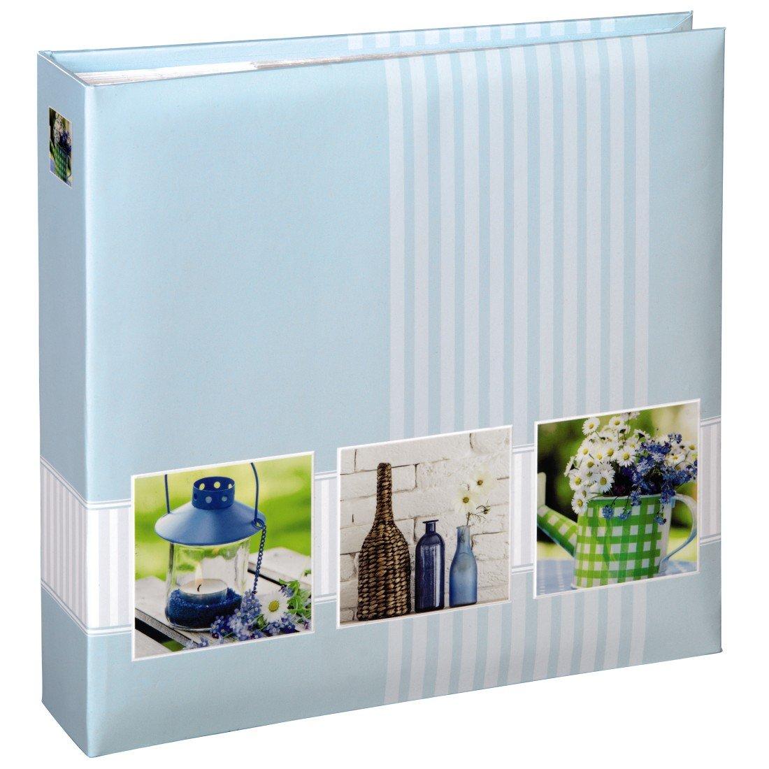 Hama 00001848 Turquesa y álbum de Foto y Turquesa Protector - Álbum de fotografía (Turquesa, 200 Hojas, 10 x 15 cm, 225 mm, 225 mm) 0afcb1
