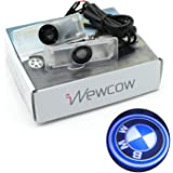 iNewcow Wireless Car Door LED Projector Light Courtesy Welcome Logo Light Shadow Ghost Laser Lamp (1Pair Chevrolet Logo)