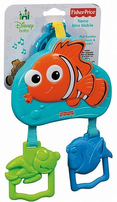 Amazon.com: Fisher-Price Disney Baby Nemo Mini Mobile ...