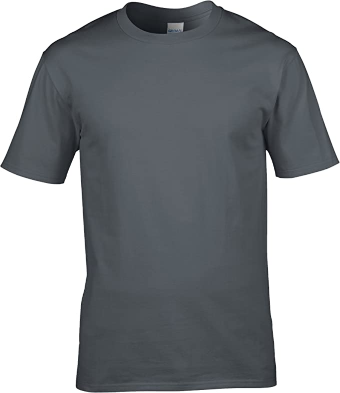 Gildan - Camiseta básica de Manga Corta 100% Algodón Hombre (4XL ...