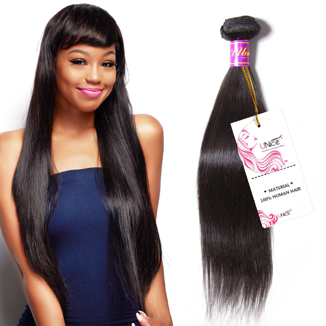 Amazon Unice Hair Icenu Series 8a Brazilian Straight Virgin