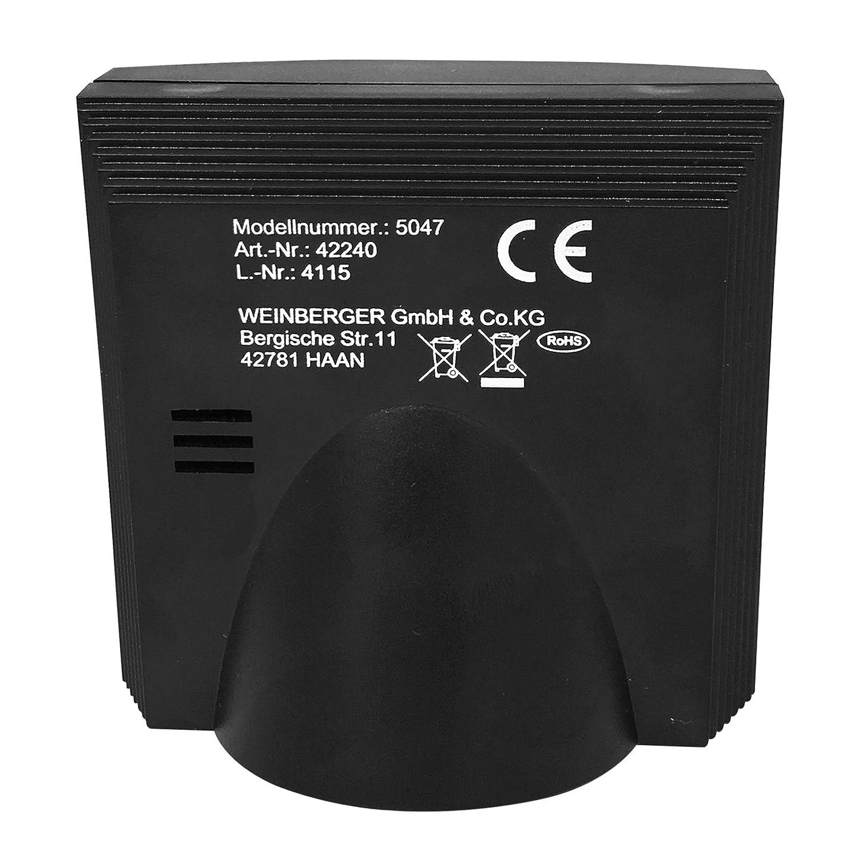 Mebus Digital Radio despertador, DCF77 Reloj, con indicador de fecha & Naranja Fondo: Amazon.es: Electrónica