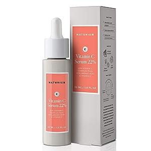 Naturium Vitamin C Serum 22% With 22% Vitamin C Complex Plus Hyaluronic Acid & Vitamin E