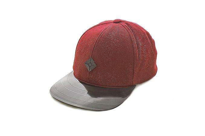 7685ce9195f Amazon.com  AUSTRA Men s Snapback hat with Vinyl Record Brim Red  Clothing