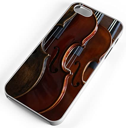 Amazon.com: iPhone Case Fits iPhone SE 5s 5 Violin Music ...