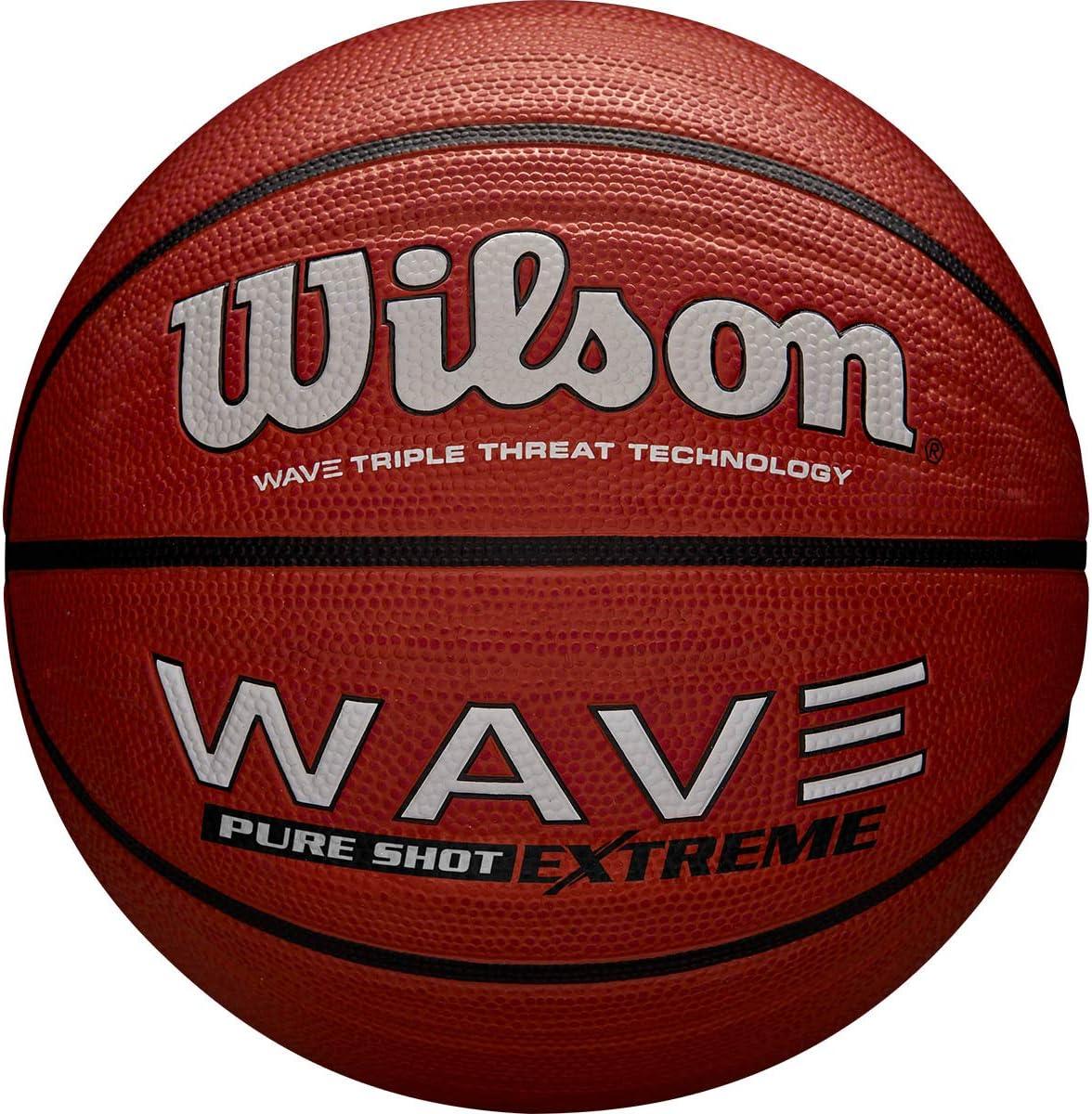 Wilson WTB0997XB07 Pelota de baloncestoWave Pure Shot Extreme ...