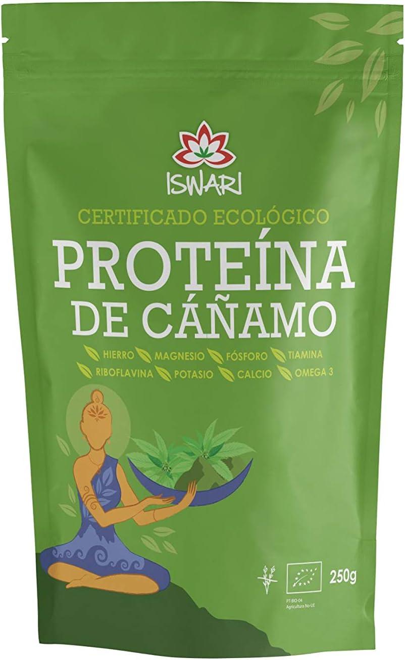 Iswari Proteina De Cañamo Superalimento 250Gr; Bio 1 Unidad 200 g