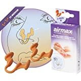 Airmax® | Dilatatore nasale contro congestione nasale | Ulteriori flusso di aria attraverso il naso | anti russare / russamento | Imballaggio 2x medio - consigliato (ORL) Medici - prodotto olandese