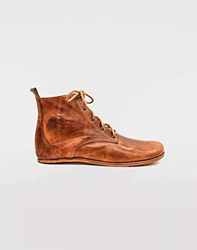 Barefoot Chukka Boots Chestnut Brown Leather Boots Ethical Premium Spanish Leather Comfortable Luxury Elegant Barefoot Shoes Barefoot Dress Shoes Amazon Co Uk Handmade