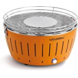 Lotusgrill LG G34 OR Barbecue da Tavolo Ca Carbonella, Arancione, 35x35x23.4 cm