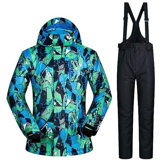 Trajes de esquí para Hombre, Chaqueta y pantalón de esquí ...