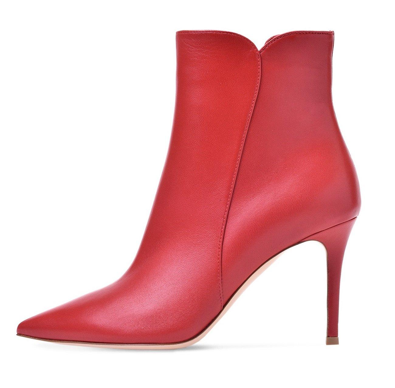 Soireelady Bottine à Talon - Haut Hiver - B00GRXHDUE Femme - Bottes pour femmes - Hiver Chaussures Taille Grande Rouge 772fe0b - conorscully.space