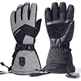 dowerme Rechargable Electric Heated Gloves for MenWomen