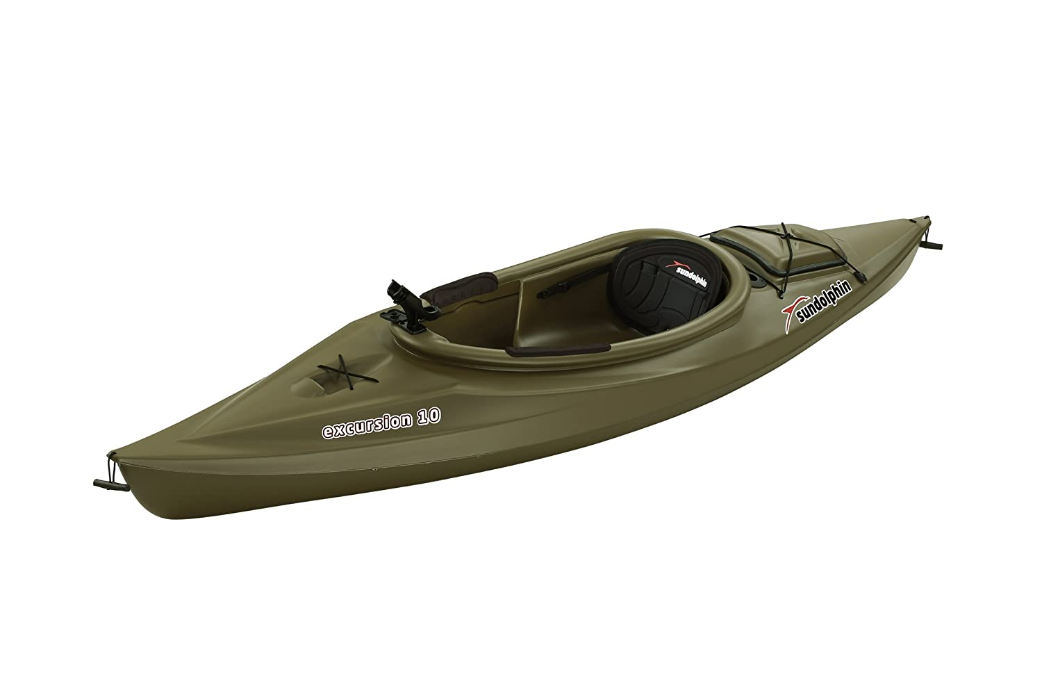 Image result for Sun Dolphin Excursion Sit-In Fishing Kayak