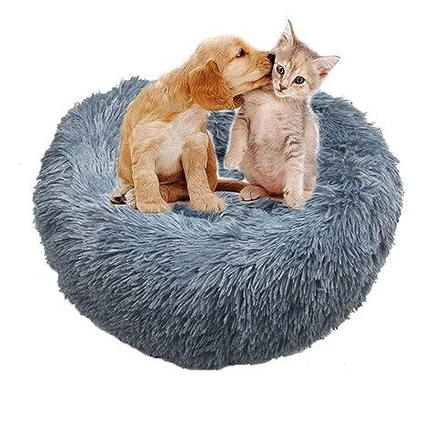 Amazon.com: UTOPIAY Cama para perro, cómoda cama redonda ...