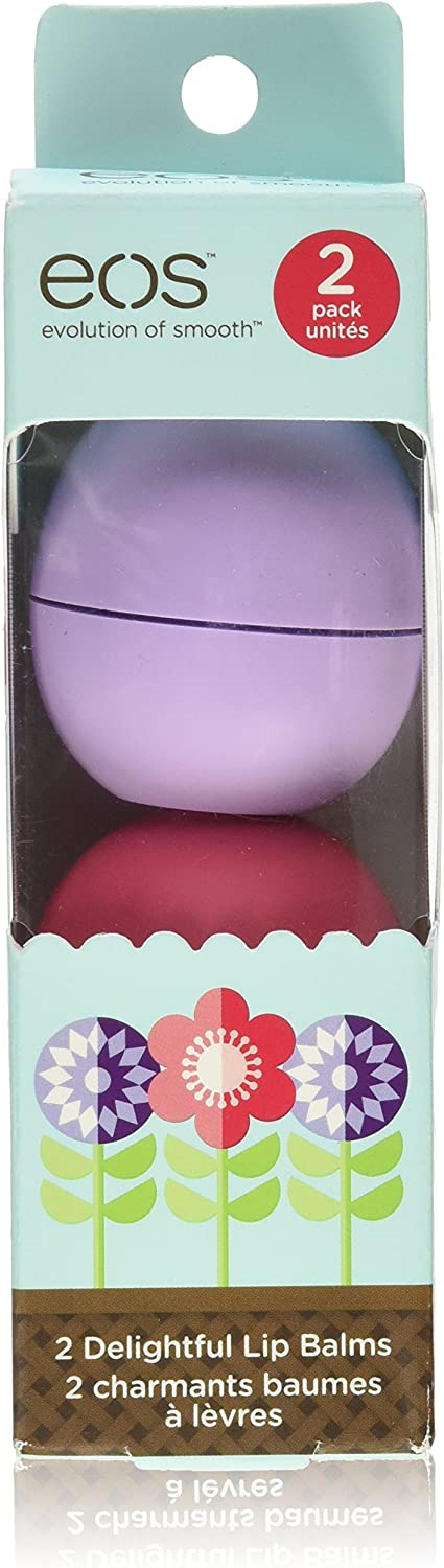 EOS Smooth Sphere Lip Balm Limited Edition Spring 2-Pack: Amazon.es: Electrónica
