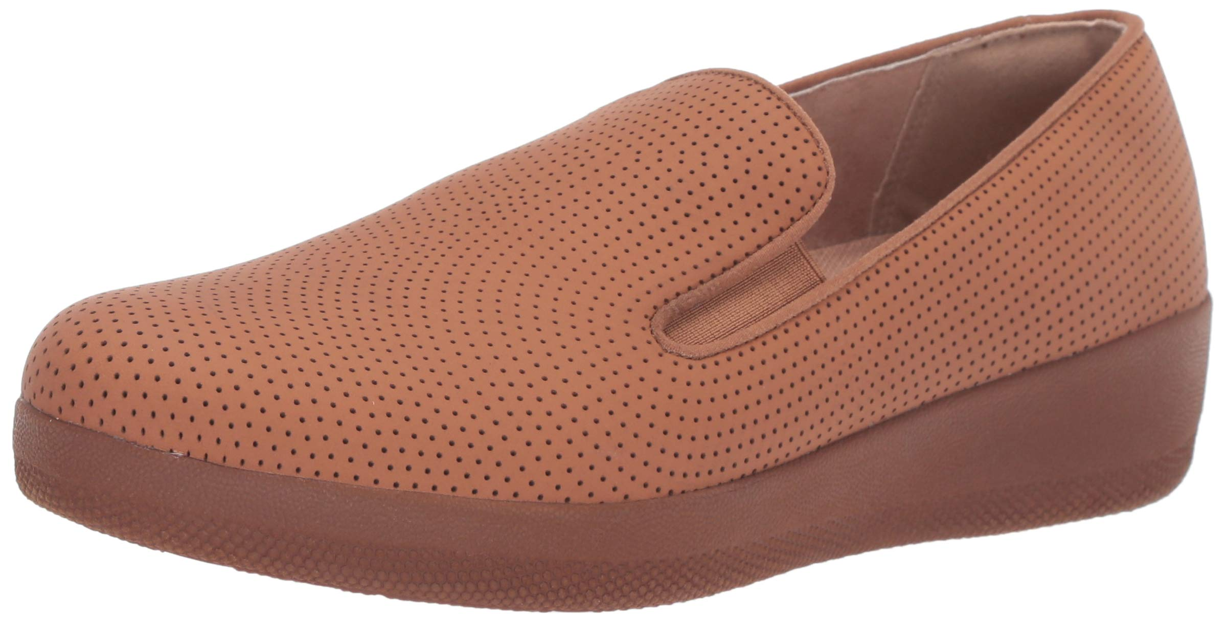 FITFLOP Women's Superskate Perforated Skate Shoe Light Tan 7.5 M US by FITFLOP