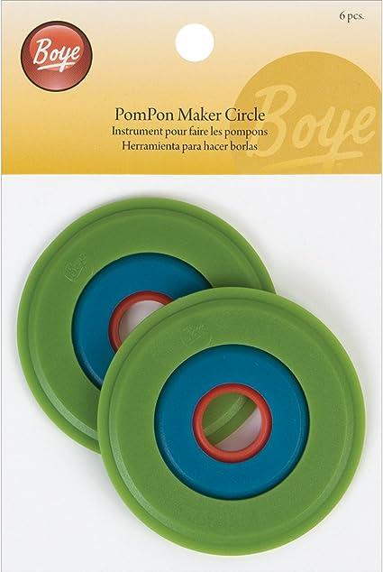 Boye Small Pom Pom Maker 6-Count 1-Inch-3-Inch
