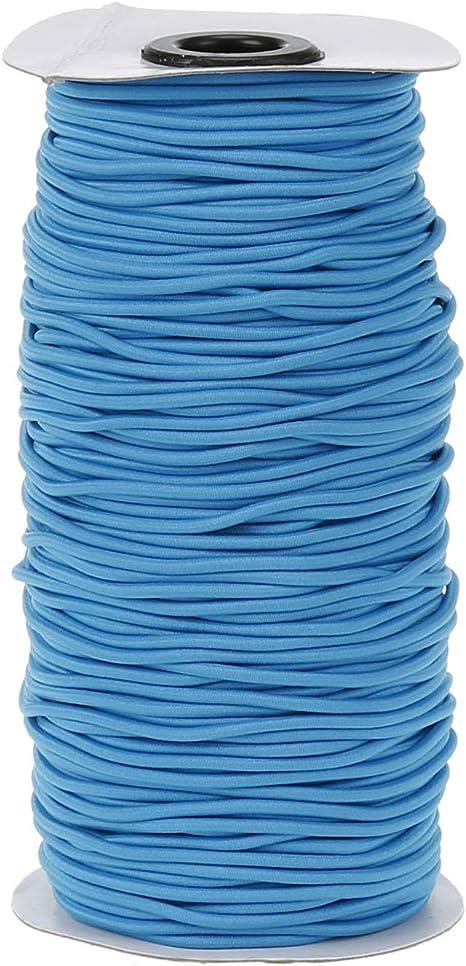 2.5mm round elastic cord tailoring craft cord dressmaking elastic 16 colours