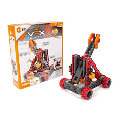 HEXBUG VEX Robotics Catapult Kit 2.0, STEM Learning, Toys for Kids (Red): Toys & Games