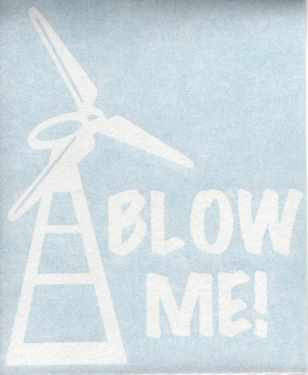 Windmill Block Stickers   3 inches Hard Hat Decal waterproof