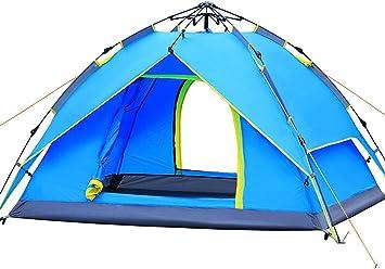 Ghlee Sekunden Pop Up Schnelles Öffnen Camping Wandern Großer Instant Zelt für Outdoor Sport Camping Wandern Travel Beach