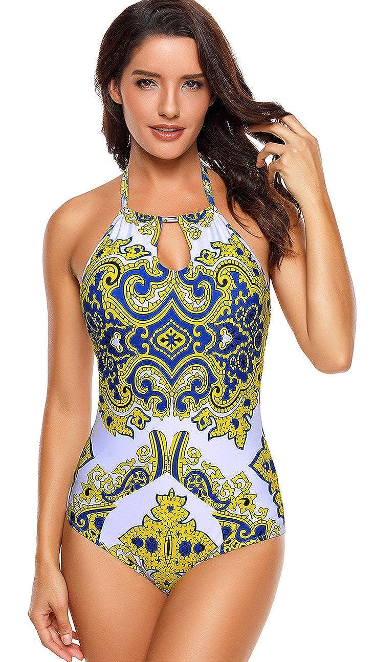 Amazon.com: angerella Mujer Retro Vintage de alta cuello ...