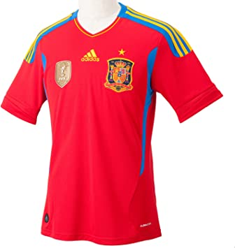 2011-12 Spain Adidas World Cup Winners Home Shirt: Amazon.es: Deportes y aire libre