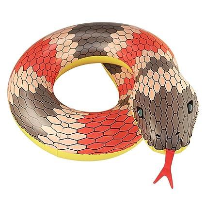 Forma flotante de la serpiente del flotador del tubo asiento del flotador de la piscina del