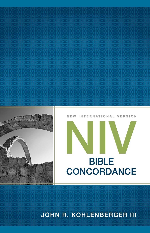NIV Bible Concordance (Bible Niv): Amazon co uk: John R