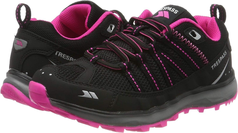 Trespass Triathlon, Zapatillas de Running para Asfalto para Mujer, Negro (Black), 36 EU: Amazon.es: Zapatos y complementos
