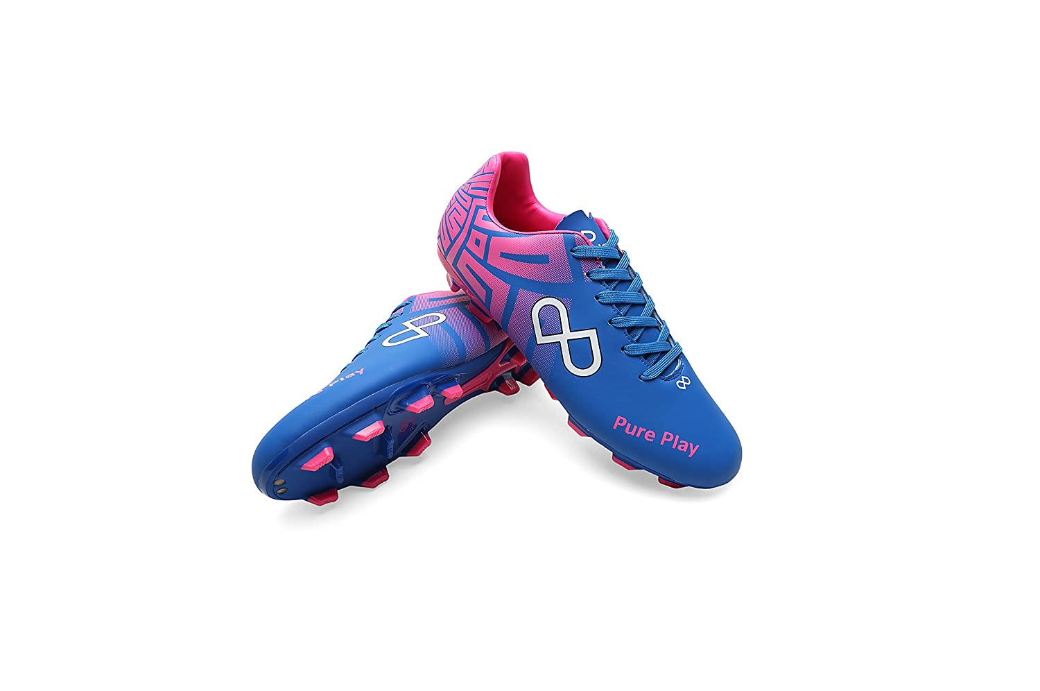 Play Blue Men's Football Shoes Size_10