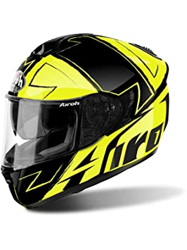 Casco Moto Airoh 2018 St701 Way Amarillo Gloss (Xs , Amarillo)
