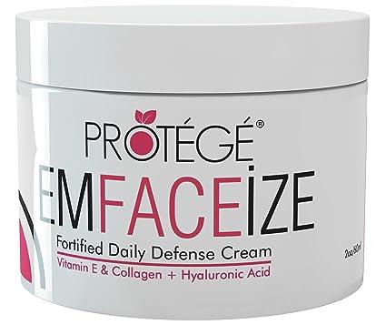 Protege Beauty EmFACEize - crema de día hidratante antiedad Ultime con protección antioxidante, 60 ml