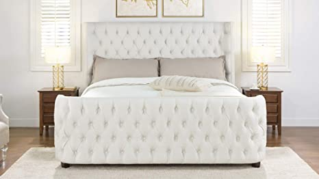 Jennifer Taylor Brooklyn Headboard Set King, Star White