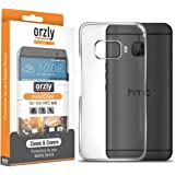 Orzly - InvisiCase for HTC ONE M9 - 100% CLEAR (100% Transparent Color) Protective Phone Cover Shell for use with the HTC ONE M9 SmartPhone / Phablet (2015 Model) - Retail Packed