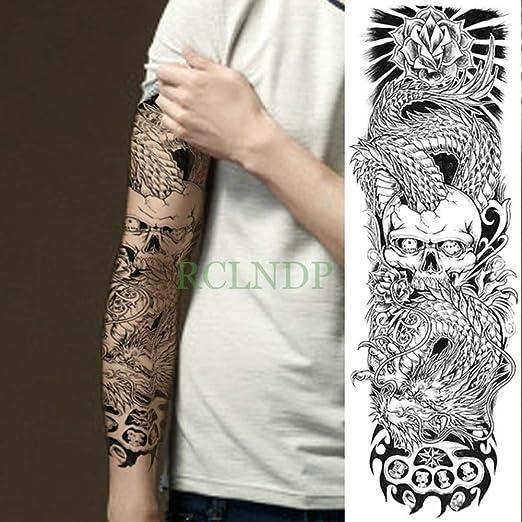 tzxdbh 3 Piezas de Pegatinas de Tatuaje para Hombres y Mujeres con ...