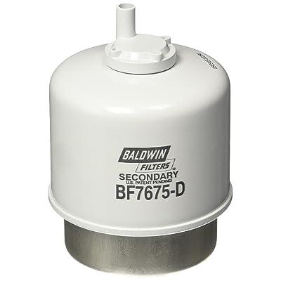 Baldwin Heavy Duty BF7675-D Fuel Filter,4-15/32 x 3-9/32 x 4-15/32In: Automotive [5Bkhe2013291]