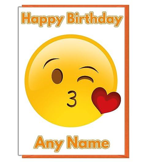 BabySmiles - corazón Kiss Tarjeta de cumpleaños - cualquier ...