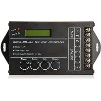 SODIAL (R) 20A temporizador programable DC12-24V controlador