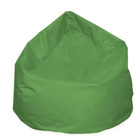 Puf XL Bag Claro Verde Cojín Cojín de Suelo Saco de en Y ...