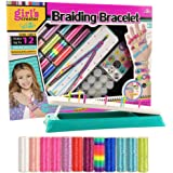 Barwa Friendship Bracelet Kit, Arts and Crafts Maker Toy for Girls Christmas Birthday Gifts Ages 6yr-12yr, Best Bracelet Making String Sets for 7, 8, 9, 10, 11 Year Old Kids Travel Activities