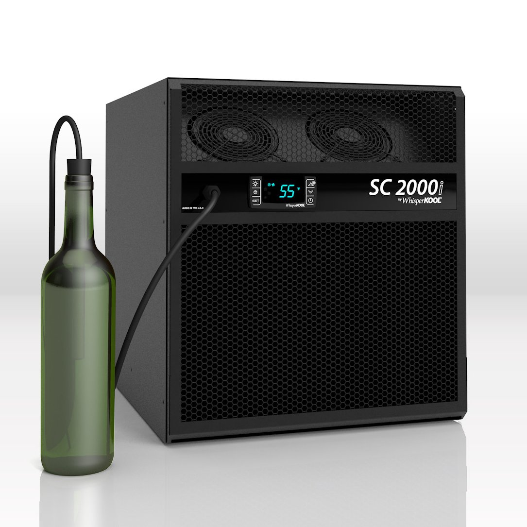 WhisperKOOL SC 2000i Wine Cellar Cooling Unit (up to 300 cu ft) by WhisperKOOL