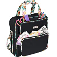 2019 Scrapbook Storage Totes Black/Floral